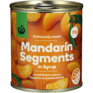5 PACK of WW Mandarin Canned 310g can