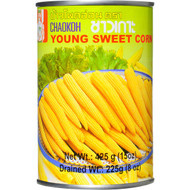 5 PACK of Chaokoh Canned Corn Young Sweet 15up 425g