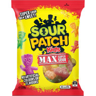 5 PACK of The Natural Confectionery Co. Sour Patch  220g
