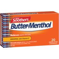 5 PACK of Nestle Butter-menthol Throat Lozenge  20 pack