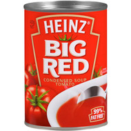 5 PACK of Heinz Canned Soup Big Red Tomato 420g