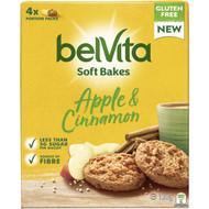 5 PACK of Belvita Soft Bakes Apple & Cinnamon 120g