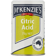 5 PACK of Mckenzie's Acid Citric  75g