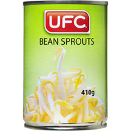 5 PACK of Ufc Canned Bean Sprouts 410g