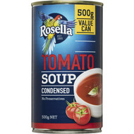 5 PACK of Rosella Canned Soup Tomato Condensed 500g