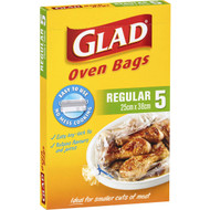 5 PACK of Glad Oven Bag Regular Regular 5 pack
