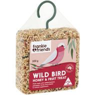 5 PACK of Frankie & Friends Wild Bird Honey & Fruit Treat 300g