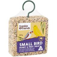 5 PACK of Frankie & Friends Small Bird Honey & Fruit Treat 330g