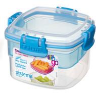 5 PACK of Sistema Plasticware Snack To Go