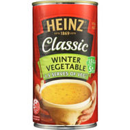 5 PACK of Heinz Classic Canned Soup Winter Vegetable 535g