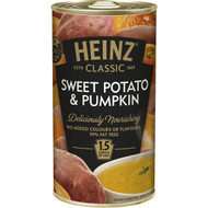 5 PACK of Heinz Classic Canned Soup Sweet Potato & Pumpkin 535g