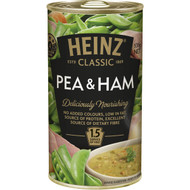 5 PACK of Heinz Classic Canned Soup Pea & Ham 535g