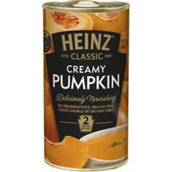 5 PACK of Heinz Classic Canned Soup Creamy Pumpkin 535g