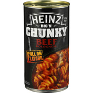5 PACK of Heinz Big N Chunky Canned Soup Pasta Bolognese 535g