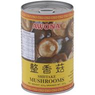 5 PACK of Awona Shiitake Mushrooms Can 425g