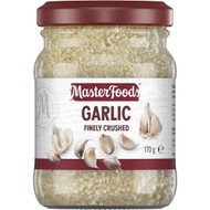 5 PACK of Masterfoods Finely Crushed Garlic 170g