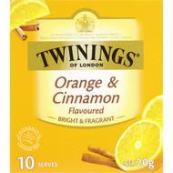 5 PACK of Twinings Orange & Cinnamon Tea 10pk