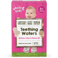 5 PACK of Whole Kids Organic Teething Wafers 6 pack