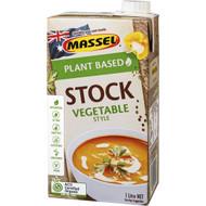 5 PACK of Massel Gourmet Liquid Stock Vegetable 1l