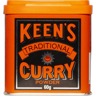 5 PACK of Keens Curry Powder 60g
