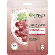 5 PACK of Garnier Hydra Bomb Anti-ageing Tissue Mask