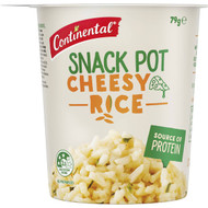 5 PACK of Continental Snack Pot Cheesy Rice 79g