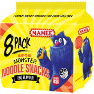 5 PACK of Mamee Noodle Snacks Bbq 8pk 200g