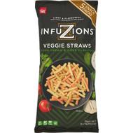 5 PACK of Infuzions Veggie Straws 5 pack