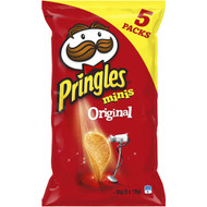 5 PACK of Pringles Minis Salted Chips Multipack 5 pack