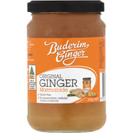 5 PACK of Buderim Ginger Marmalade 365g
