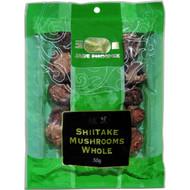 5 PACK of Jade Phoenix Ingredients Mushroom Dried Whole Shiitake 50g
