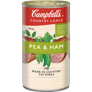 5 PACK of Campbell's Country Ladle Canned Soup Pea & Ham 500g