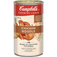 5 PACK of Campbell's Country Ladle Canned Soup Chicken Noodle 500g