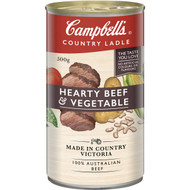 5 PACK of Campbell's Country Ladle Canned Soup Beef & Vegetable 500g