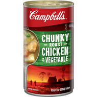 5 PACK of Campbell's Chunky Canned Soup Roast Chicken & Vegetable 505g