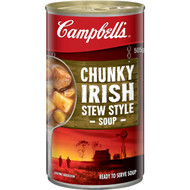 5 PACK of Campbell's Chunky Canned Soup Hearty Irish Stew 505g