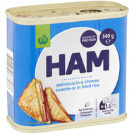 5 PACK of WW Canned Ham  340g