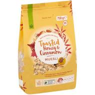 5 PACK of WW Toasted Honey & Cinnamon Muesli 750g