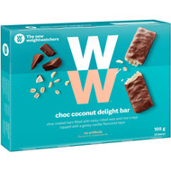 5 PACK of Weight Watchers Coconut Delight Bars 5 pack