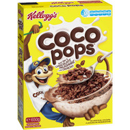 5 PACK of Kellogg's Coco Pops Chocolatey Breakfast Cereal 650g