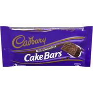 5 PACK of Cadbury Chocolate Cake Bars 5 pack