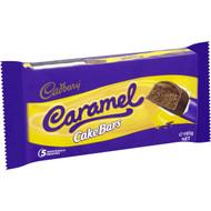5 PACK of Cadbury Caramel Cake Bars 5 pack