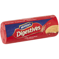 5 PACK of Mcvitie's Digestives Biscuits Plain Original 400g