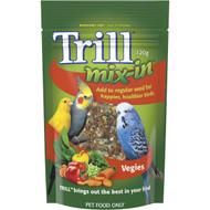 5 PACK of Trill Mix In Veggies Bird Treat 120g
