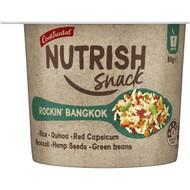 5 PACK of Continental Nutrish Snack Rockin Bangkok 80g