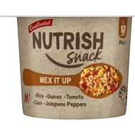 5 PACK of Continental Nutrish Snack Mex It Up Pot 80g