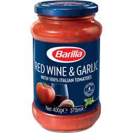 5 PACK of Barilla Pasta Sauce Red Wine & Garlic 400g