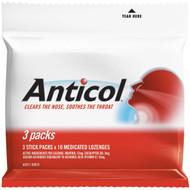 5 PACK of Allen's Anticol Throat Lozenge 3 pack