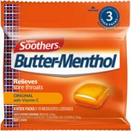 5 PACK of Allen's Butter-menthol Throat Lozenge 3 pack
