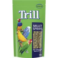 5 PACK of Trill Bird Millet Sprays 150g